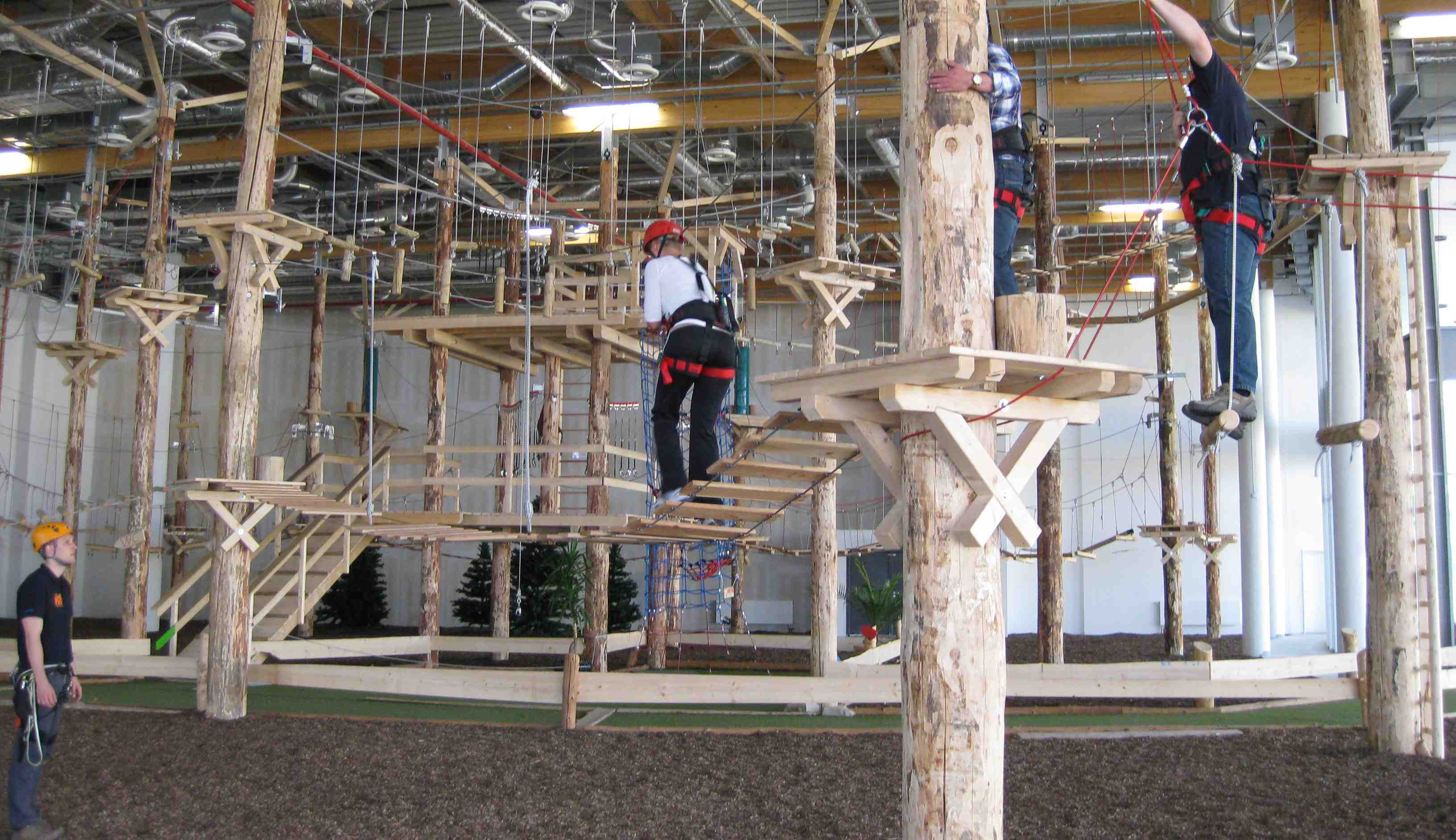 Indoor Rope Course Setup Compnay in India  I Explore Adventure