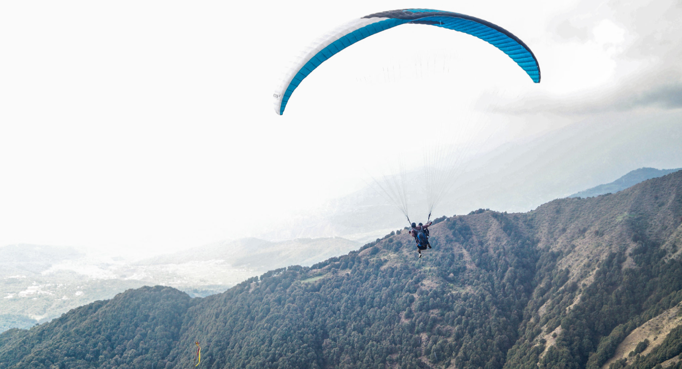 Paragliding in India
